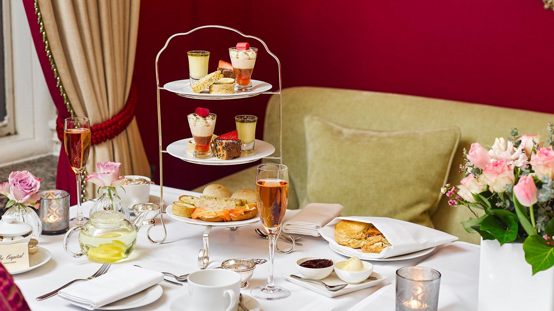 Afternoon Tea Biscuits at The Capital by Warwick