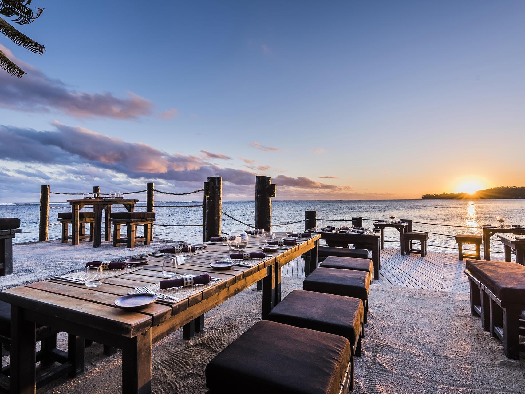 Wicked Walu Sunset at Warwick Fiji