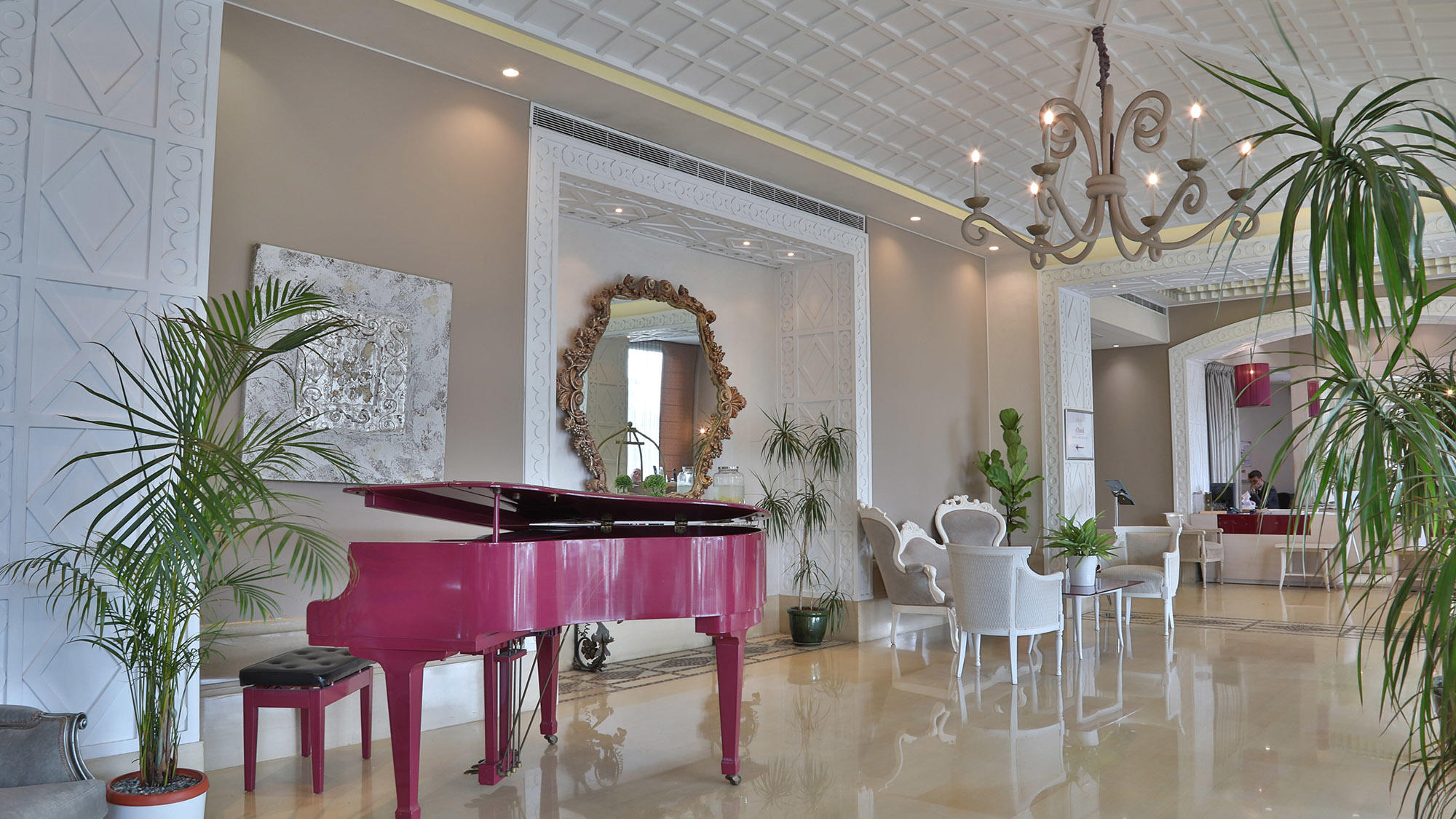 Lobby Area Dining