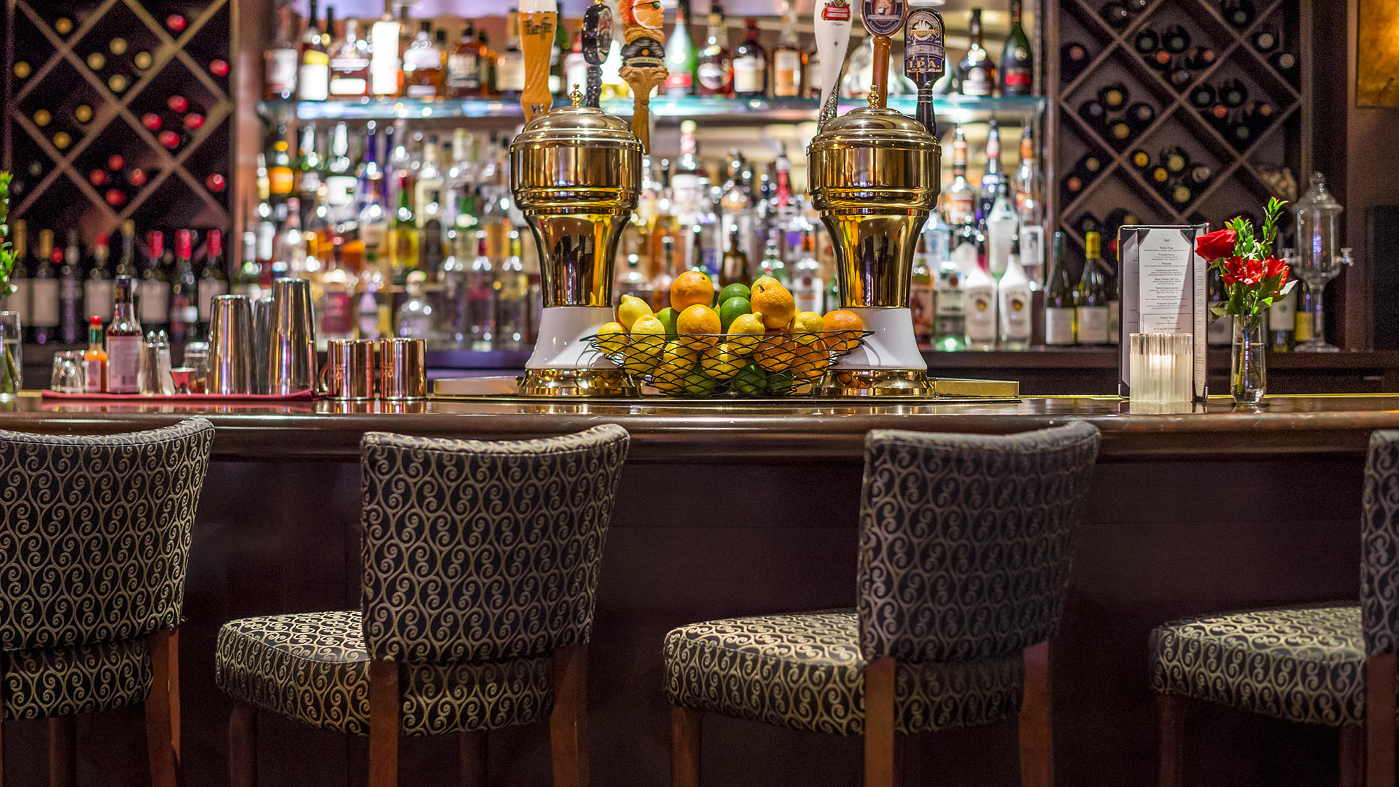 Bar at Margaux Lounge at Warwick Seattle
