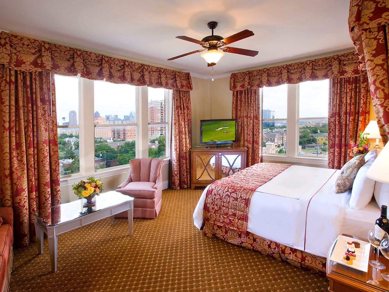 Corner Room King at Warwick Melrose Dallas