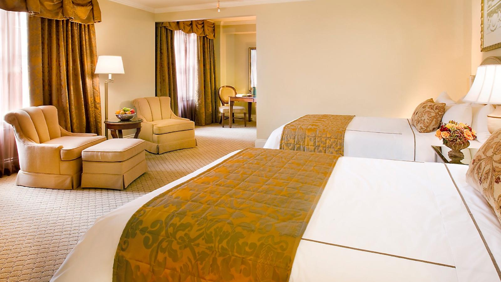 Deluxe Double Room at Warwick Melrose Dallas