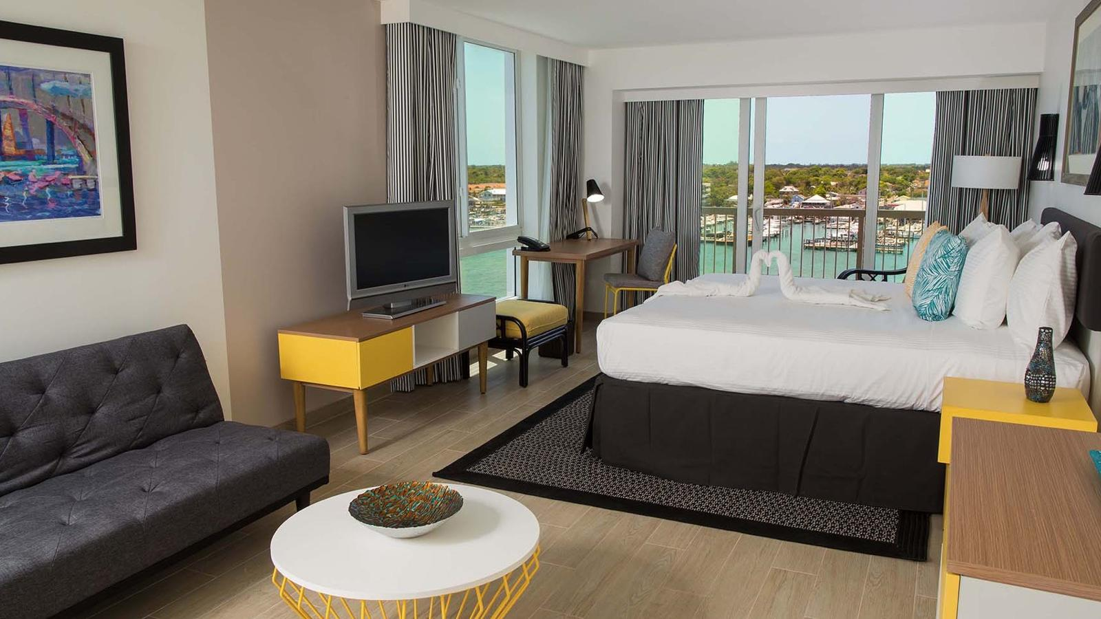 Harbor Premium Balcony King Bedded Room