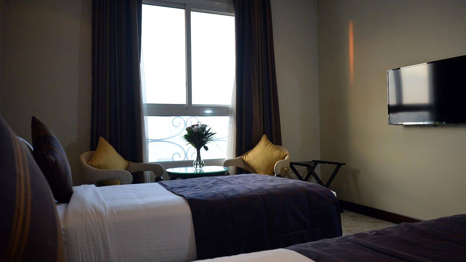 Deluxe with Twin Beds at Strato Hotel by Warwick