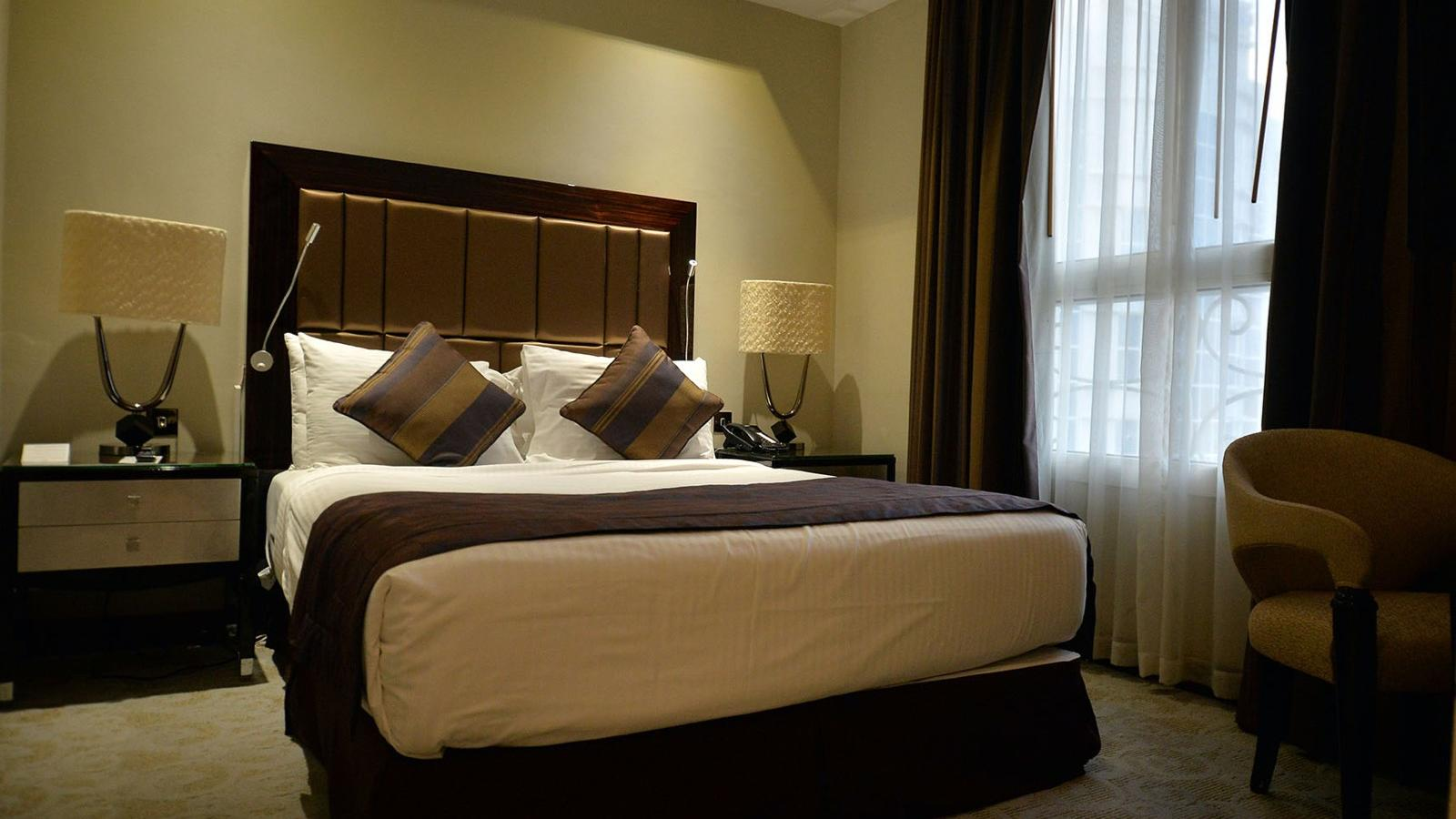 Standard Room Queen bed at Strato Hotel by Warwick