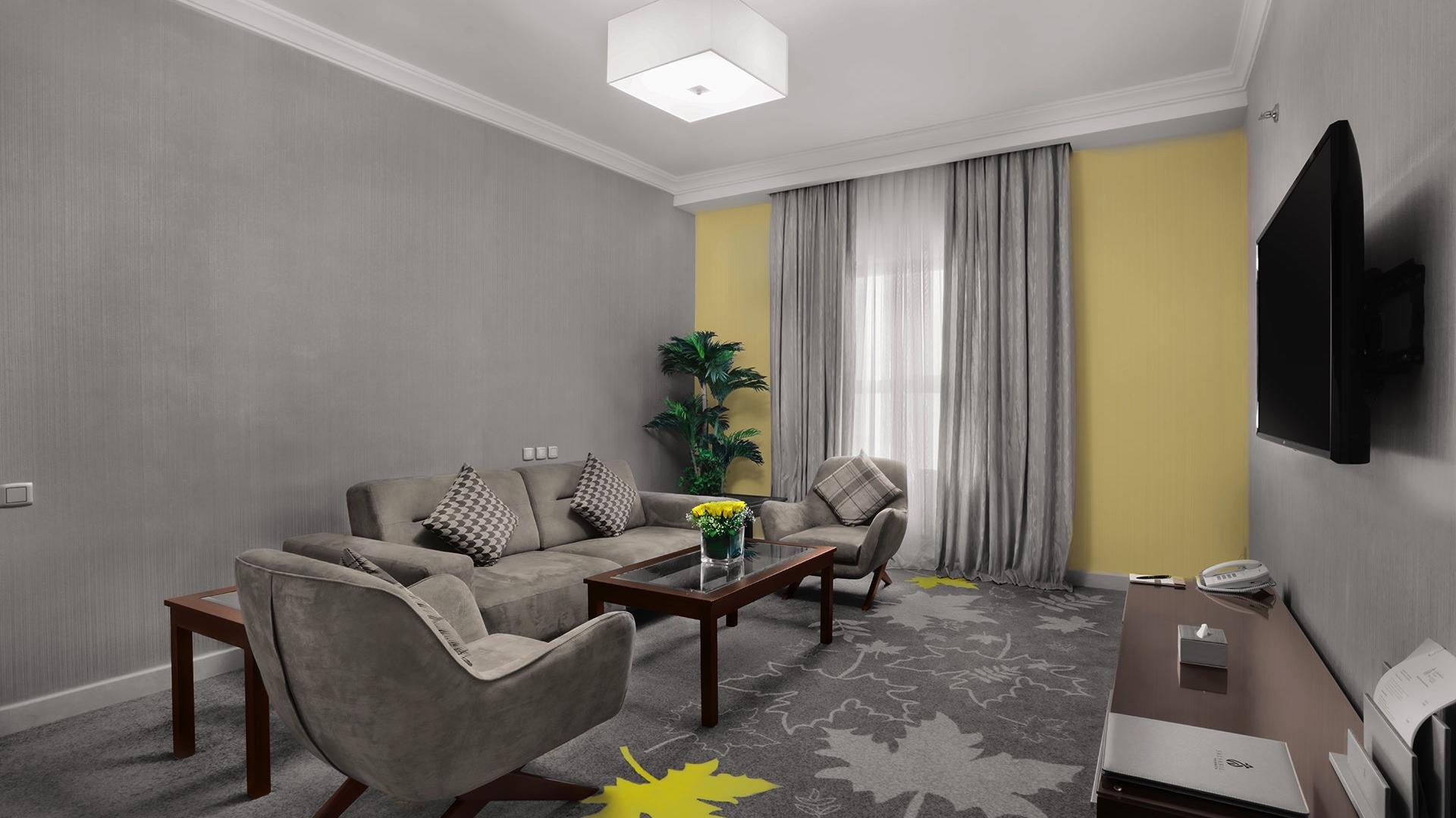 Executive Suite Sitting Area at Salsabil Hotel by Warwick