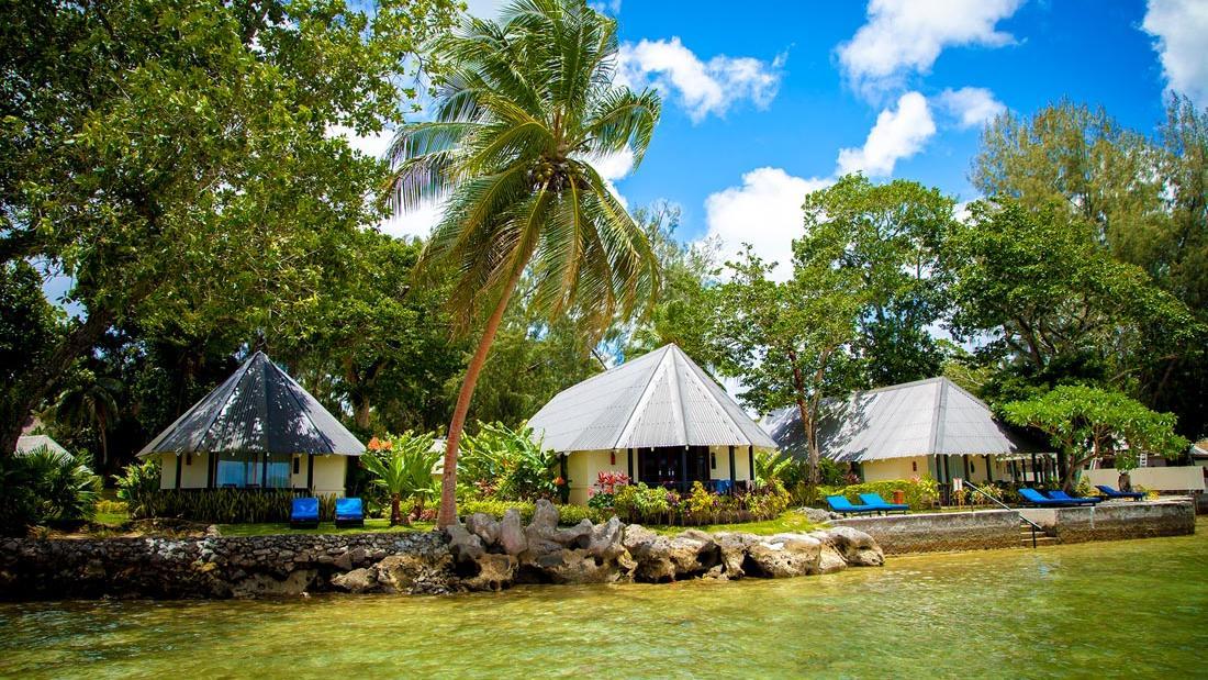 Lagoon Bungalow Exterior at Warwick Le Lagon Vanuatu