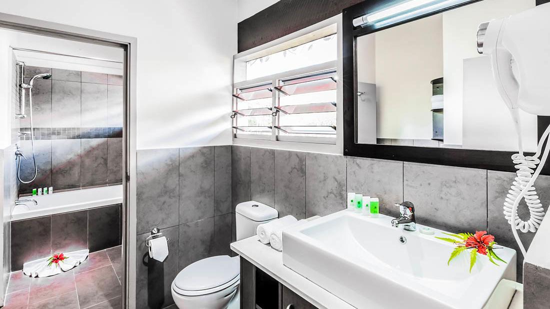 Bathroom at One Bedroom Villa