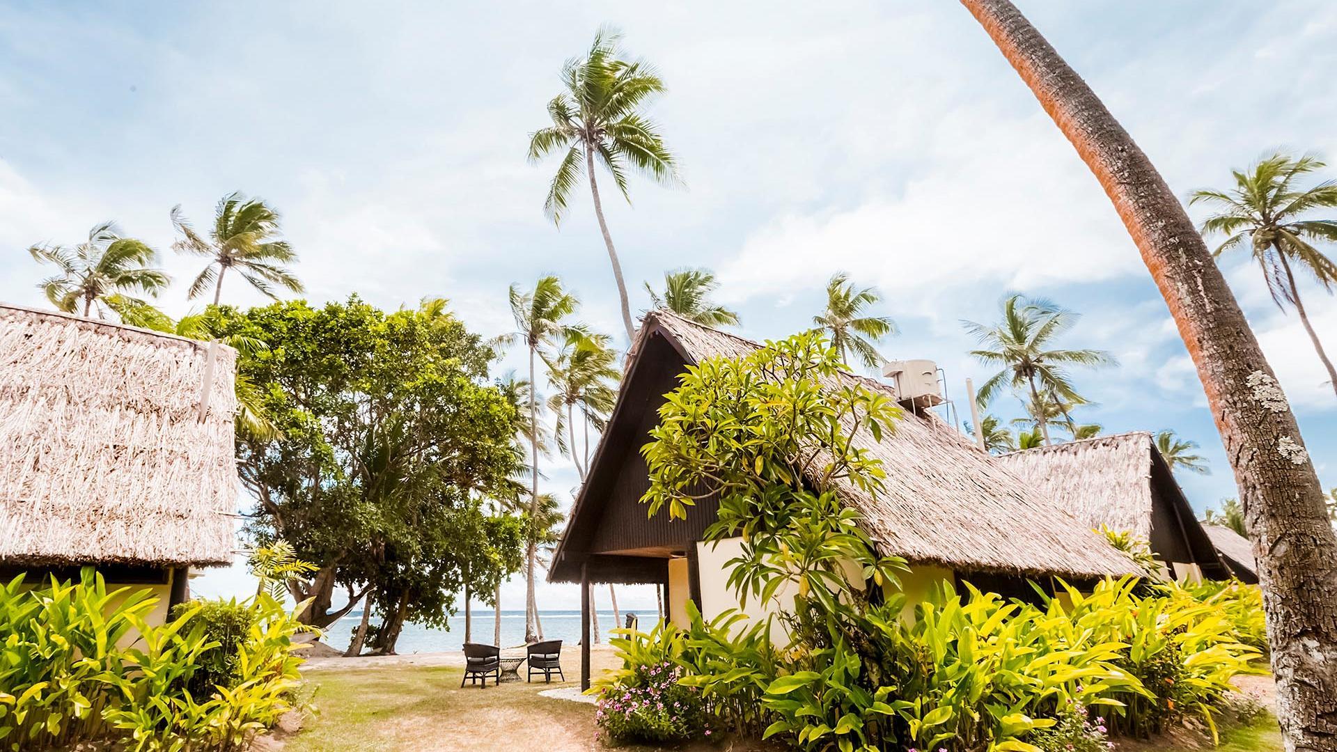 Ocean View Villa Behind