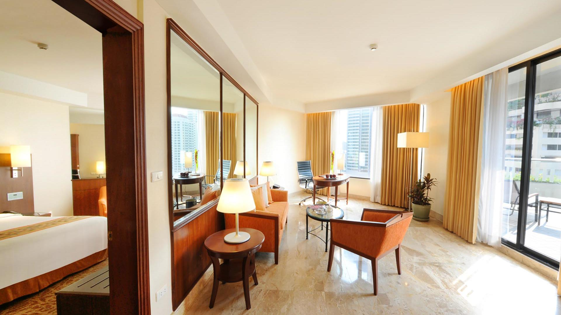 Terrace Suite at Rembrandt Hotel Bangkok