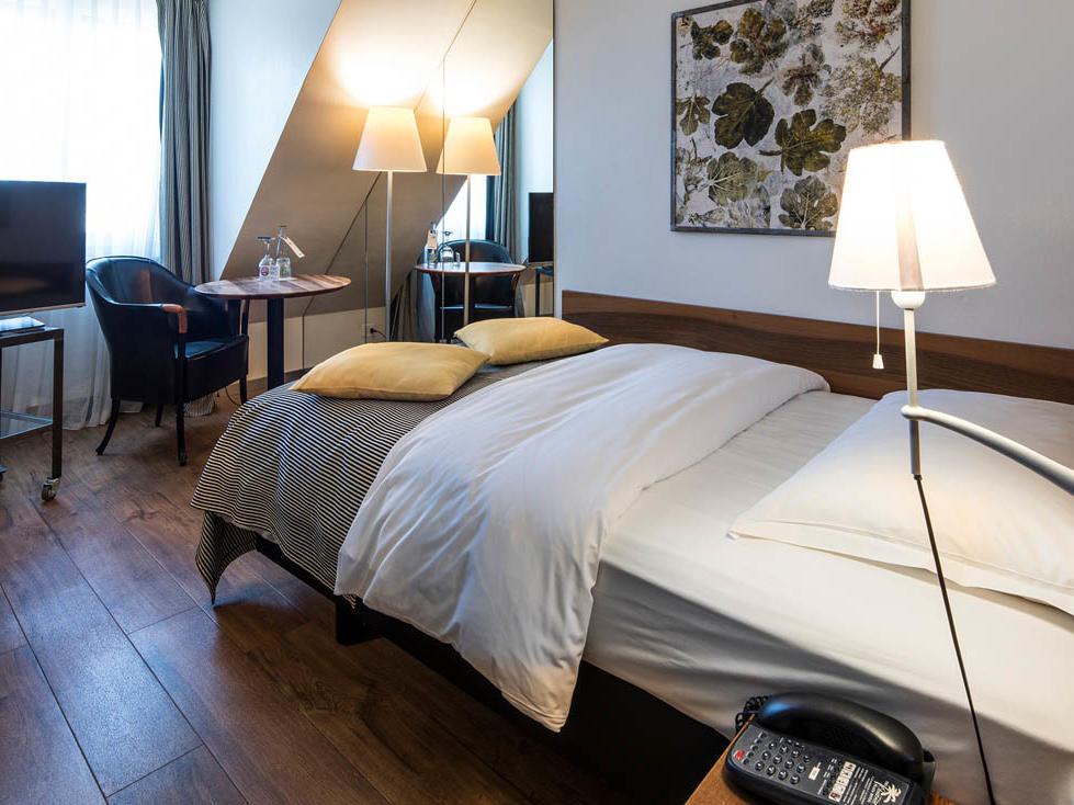 Central Plaza Hotel Zurich Single Room