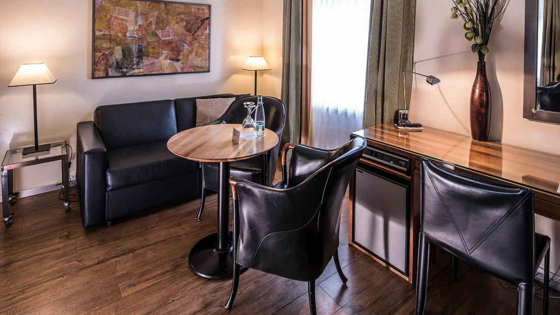 Suite at Central Plaza Hotel Zurich