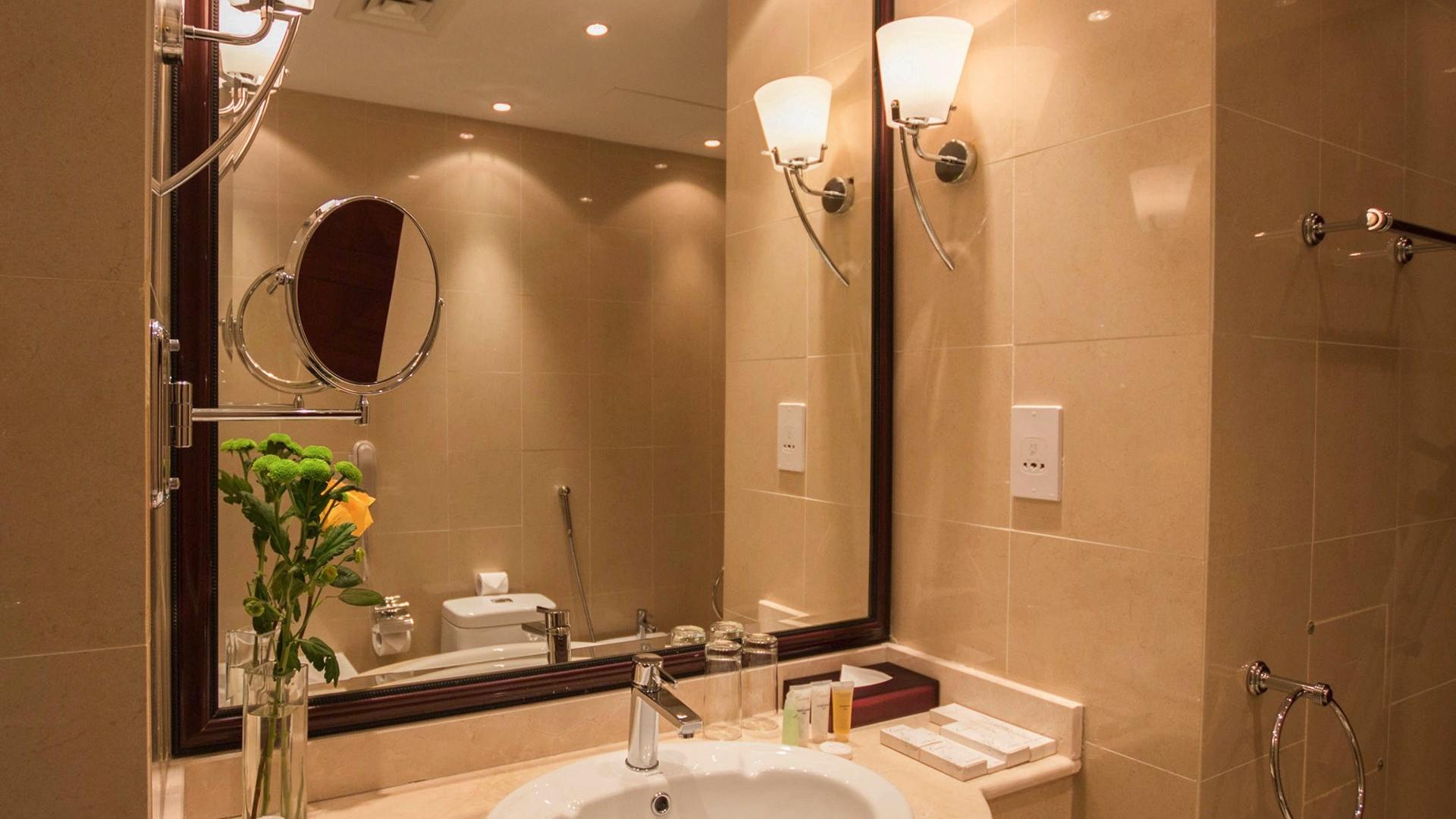 Sink at Strato Hotel by Warwick