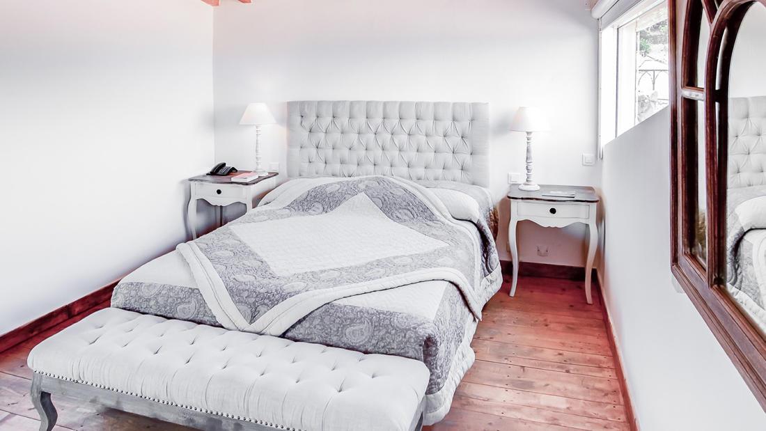 Luxe Room Dubble Bed at Roc e Fiori Hotel