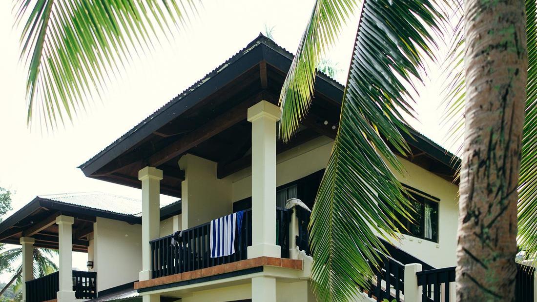 Garden View Balcony at Warwick Le Lagon Vanuatu