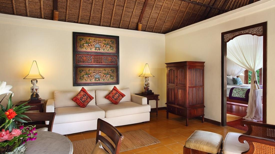 Two Bedroom Frangipani Living Room at Warwick Ibah
