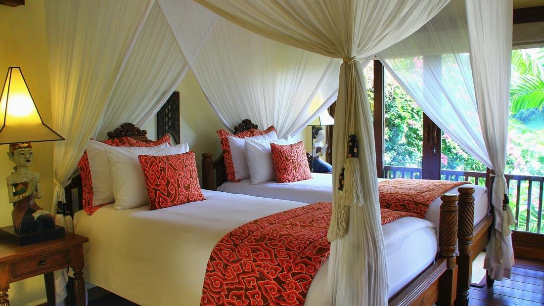 Two Bedroom Frangipani Twin Bedroom at Warwick Ibah
