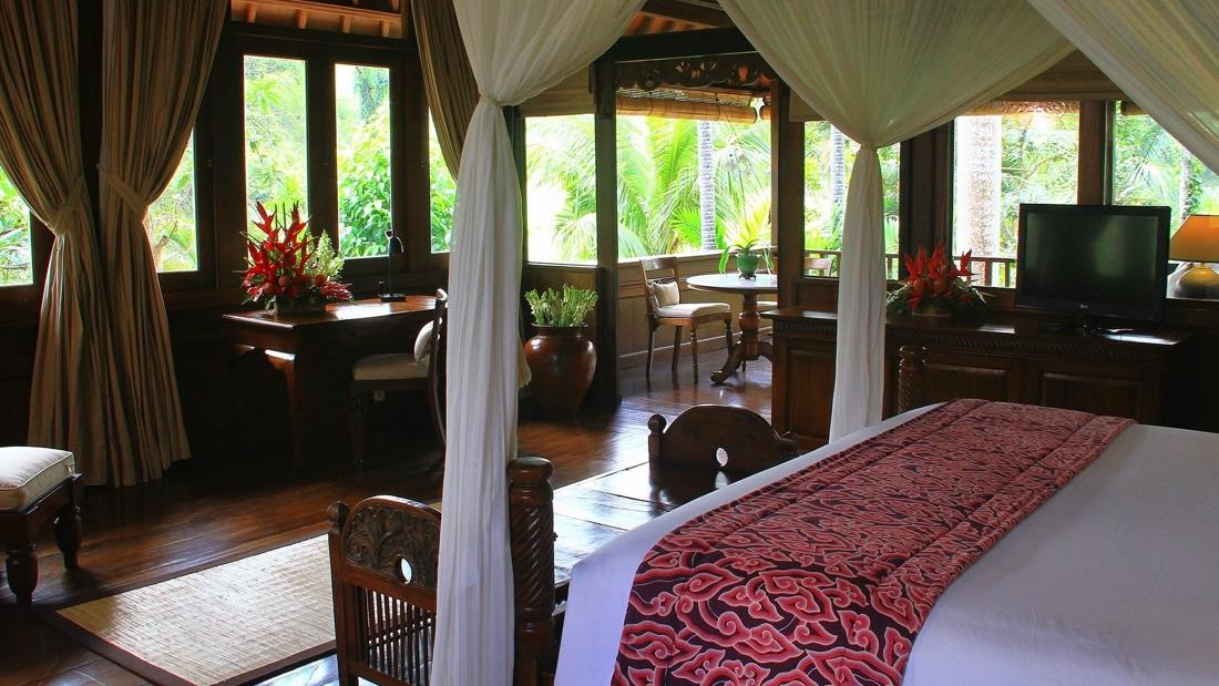 Ibah Suite Caliandra Bedroom to Balcony at Warwick Ibah