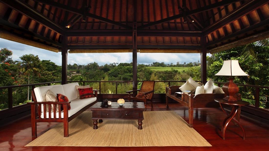 Ibah Suite terrace at Warwick Ibah