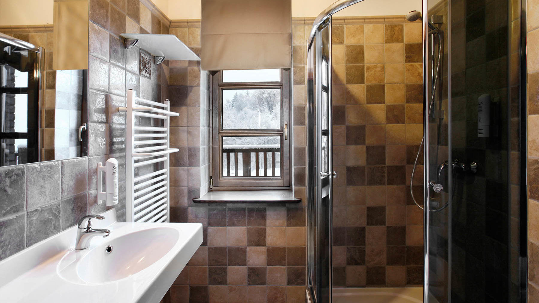 Premium Guesthouse bathroom Hotel Aubrech