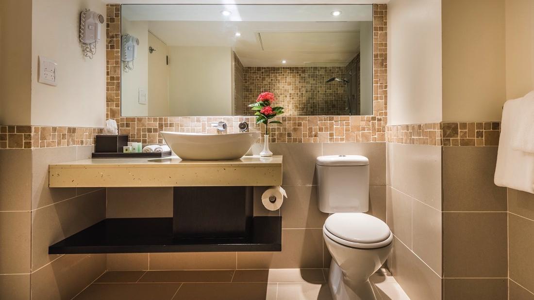 Bathroom Sink at Warwick Fiji