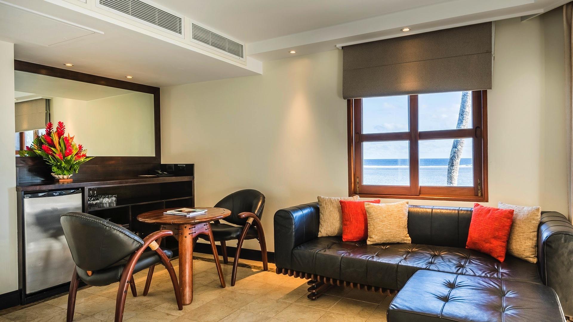 Suite Living room at Warwick Fiji