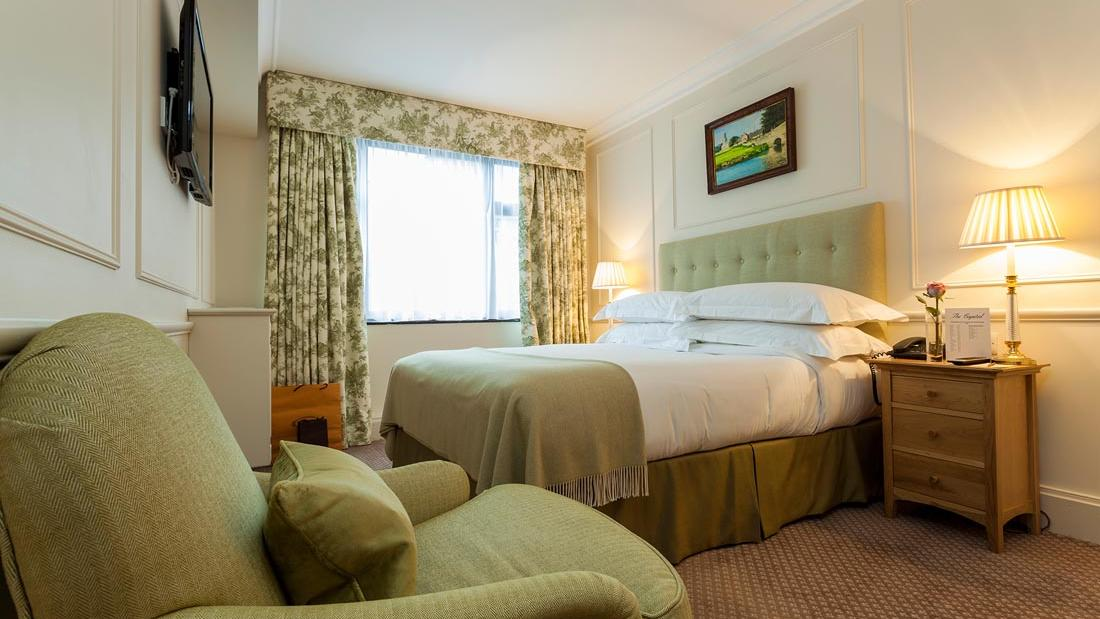 Green Small Double Bed at The Capital by Warwick