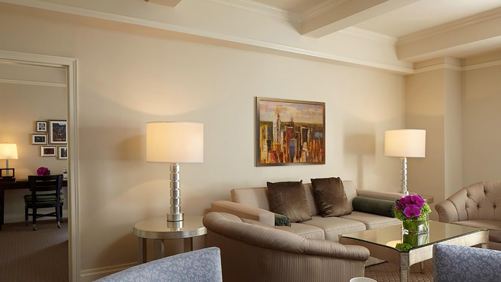 Premier Plus Suite Living Room