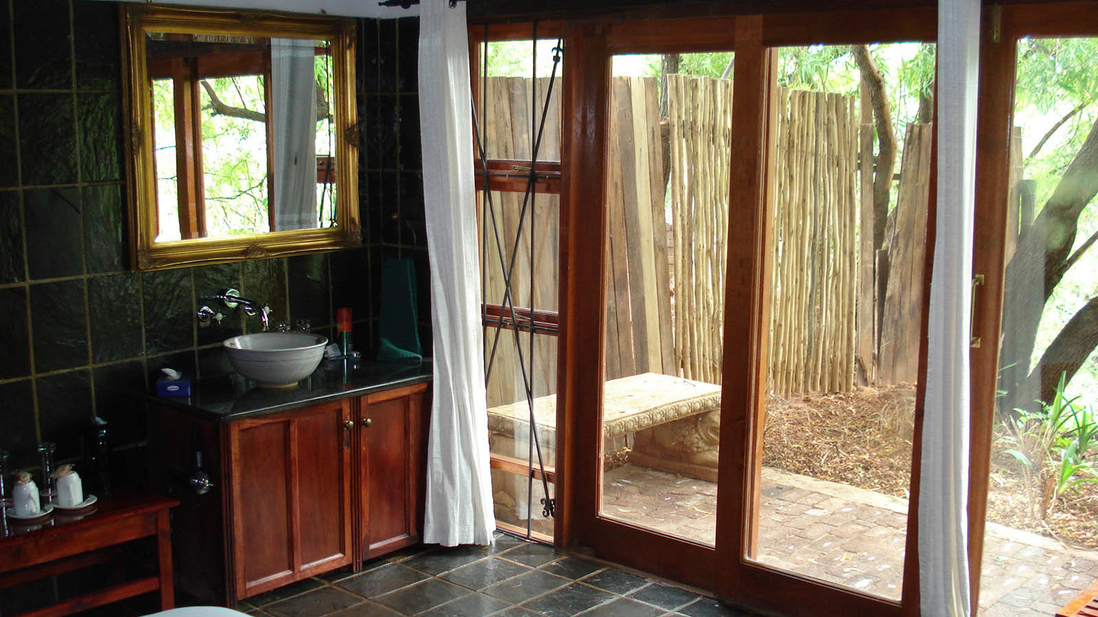 Lakeside Bathroom at Kedar Heritage Lodge by Warwick