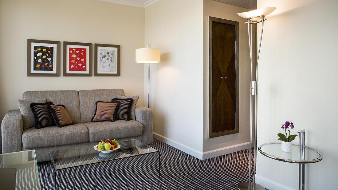 Penthouse Executive Terrace Suite Living Room