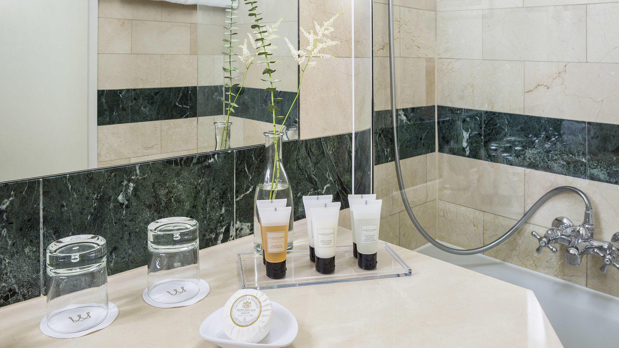 Warwick Geneva Penthouse Executive Bathroom close-up