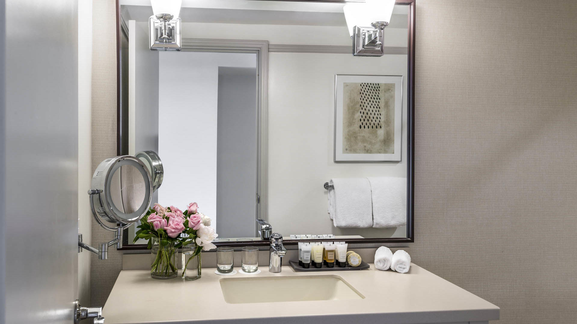 Executive Suite Bathroom Sink at Warwick Denver
