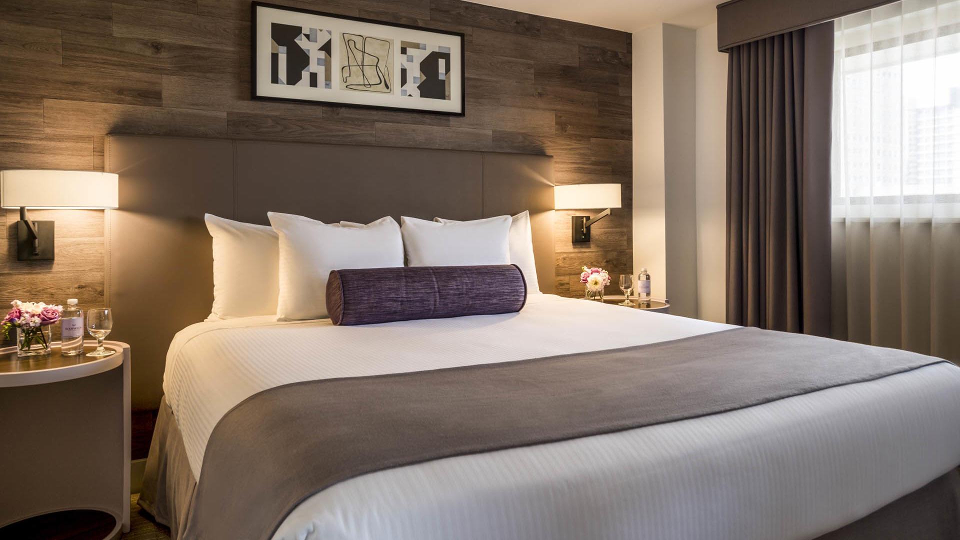 Premiere Suite Bed at Warwick Denver
