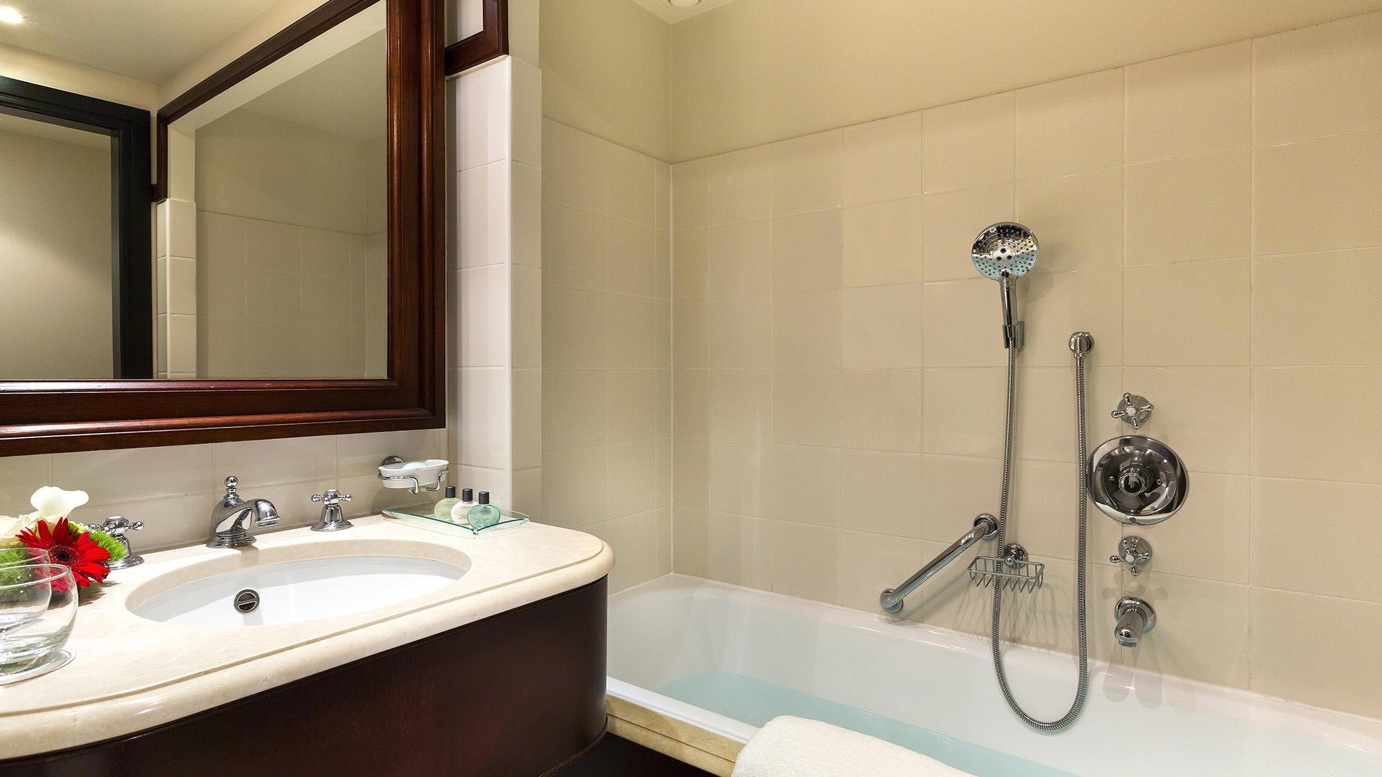 Bathroom bath classic room