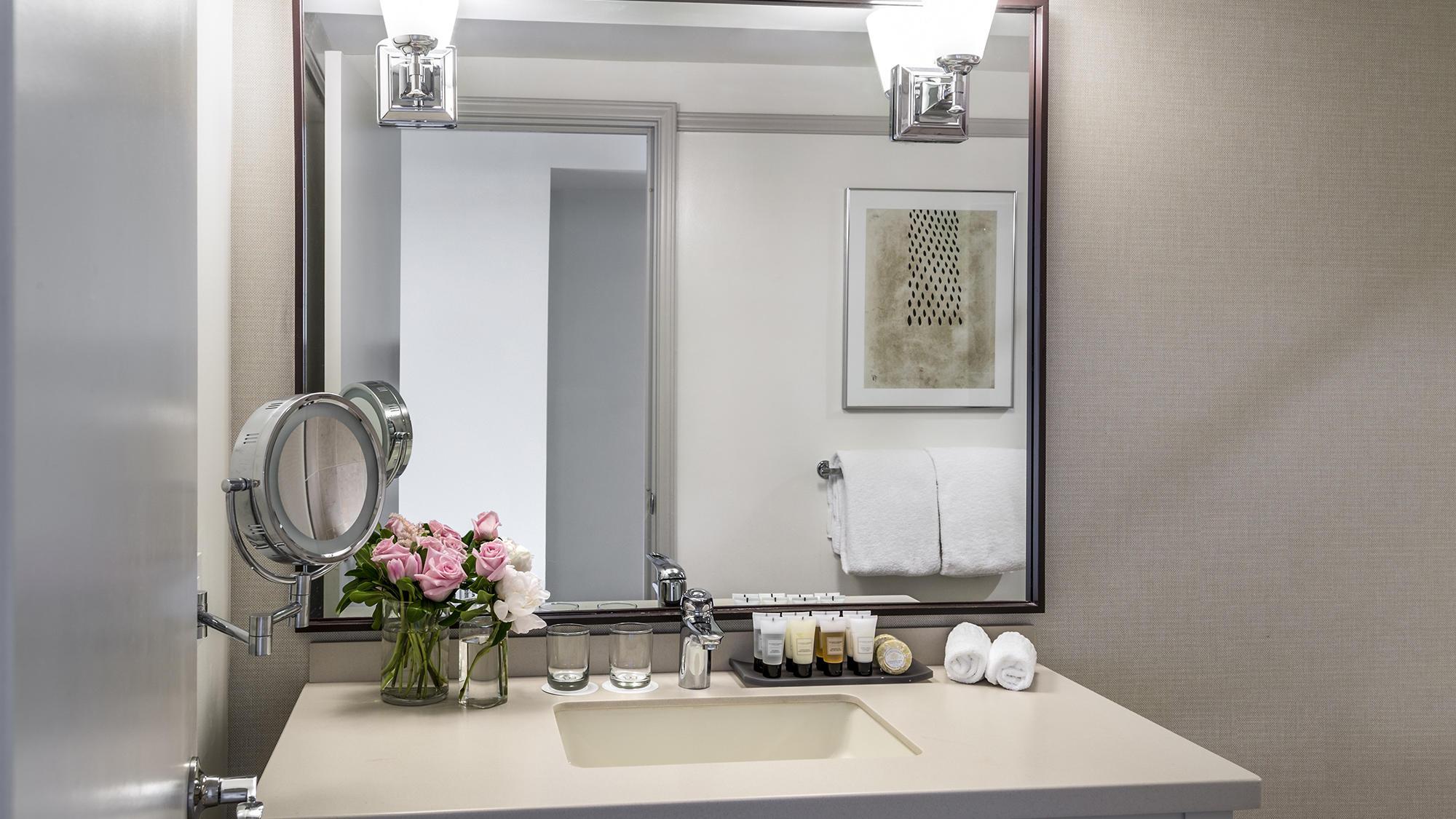 Bathroom at Warwick Denver