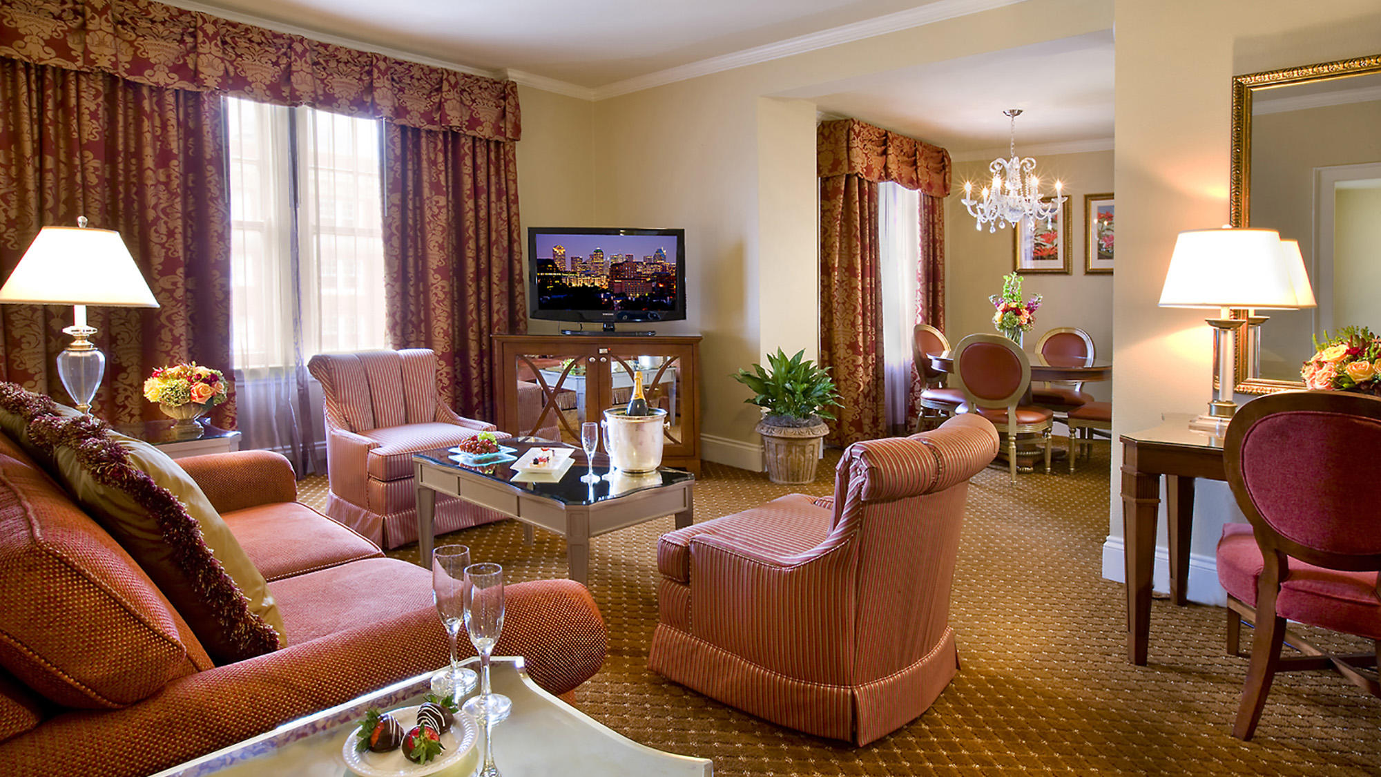 Deluxe Suite offer details