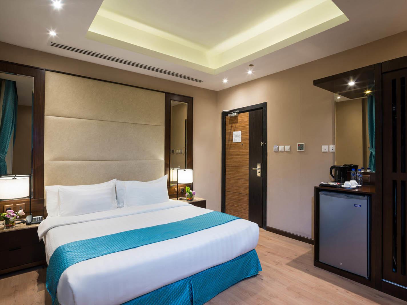 Standard Room Bedroom at Naviti by Warwick Dammam