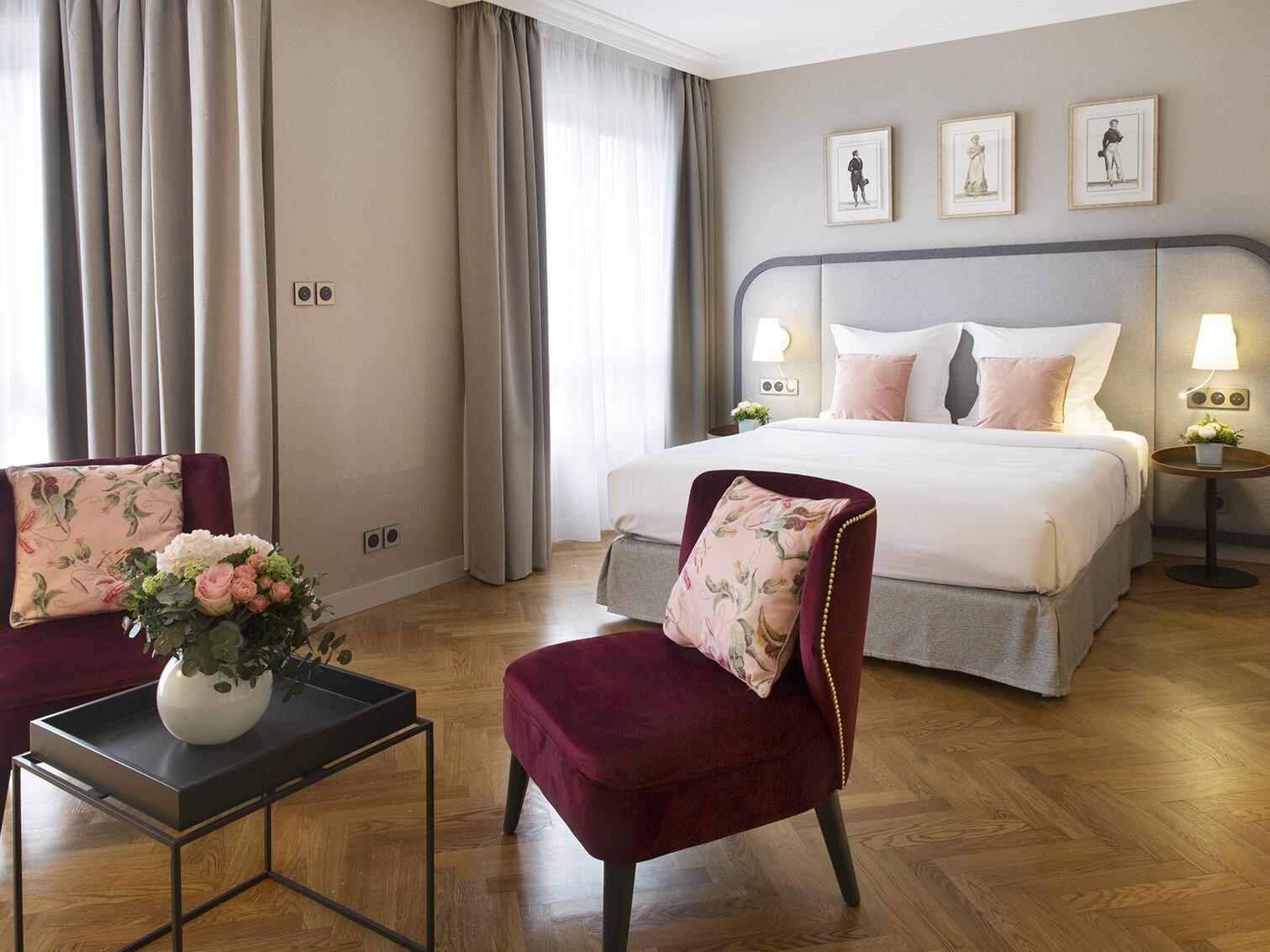 Chambre Deluxe Warwick Reine Astrid Lyon