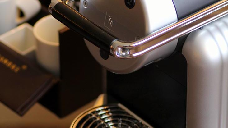 Junior Suite Coffee Machine at The Capital by Warwick