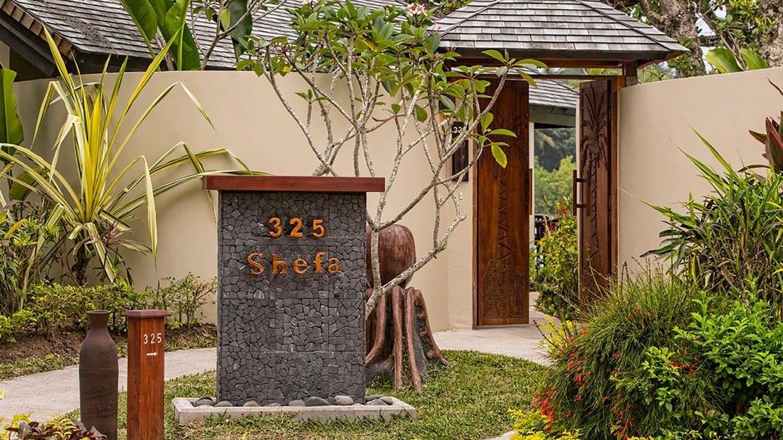 Shefa Entrance at Warwick Le Lagon Vanuatu