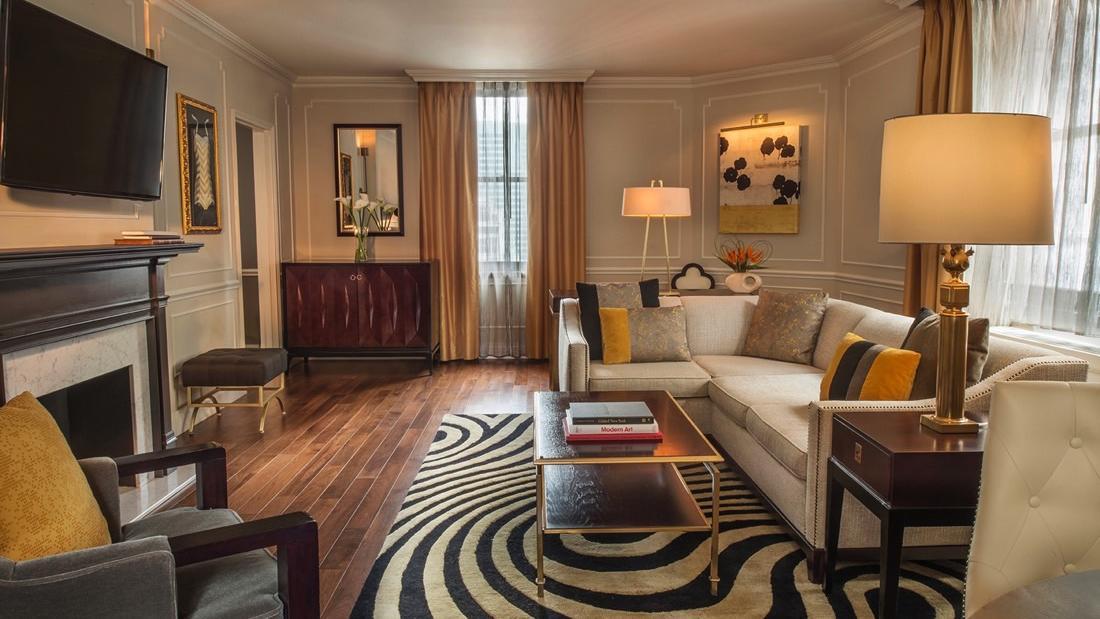Signature Suite Jane Living Room