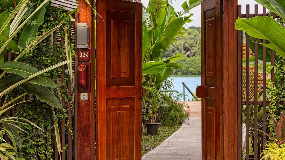Efate Entrance at Warwick Le Lagon Vanuatu