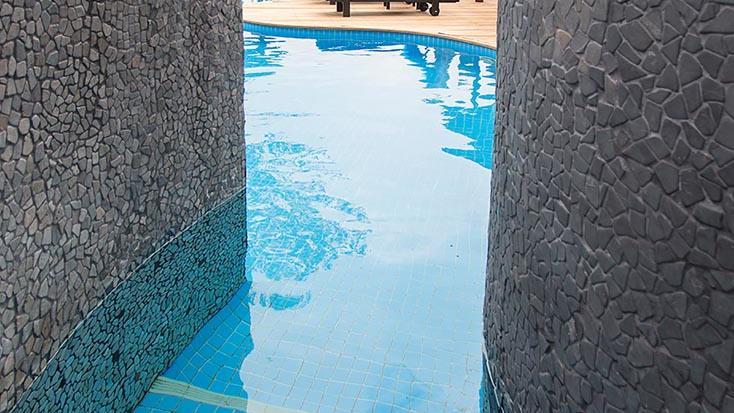 Efate Pool Detail at Warwick Le Lagon Vanuatu