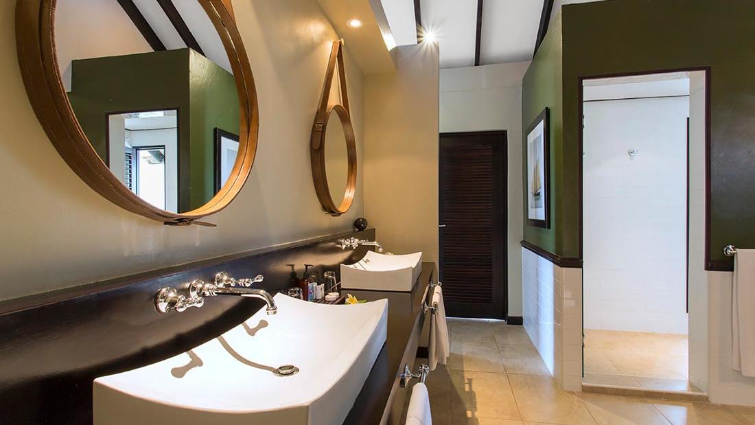 Erakor Bathroom Mirror at Warwick Le Lagon Vanuatu