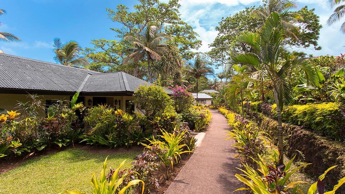 Garden to Erakor at Warwick Le Lagon Vanuatu