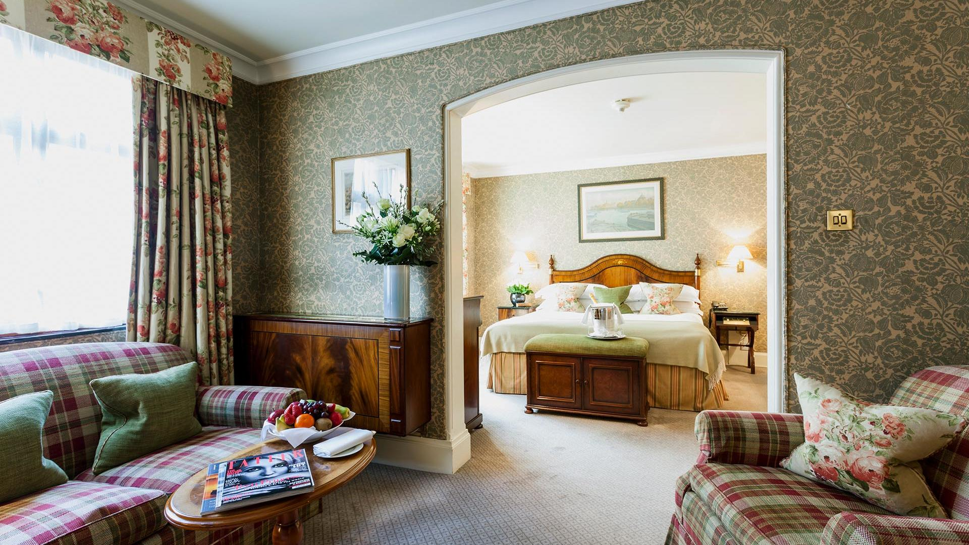 Junior Suite Opposite Bedroom at The Capital by Warwick