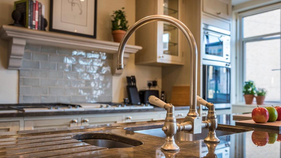 Penthouse Kitchen Tap Detail at The Capital by Warwick