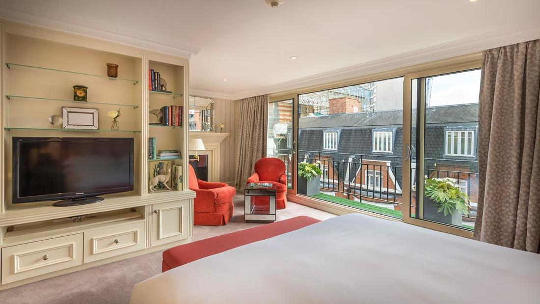 Penthouse Master Bed View at The Capital by Warwick