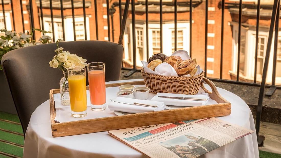Penthouse Terrace Breakfast at The Capital by Warwick