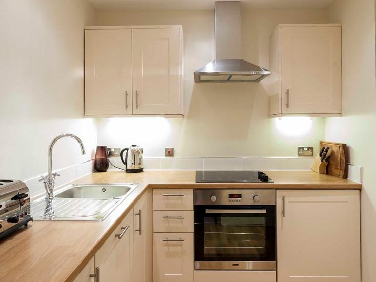 Apartment Kitchen at The Capital by Warwick
